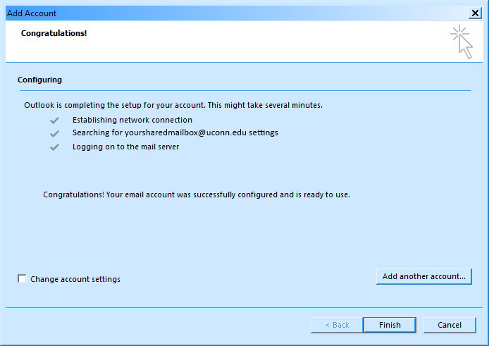 screen shot of windows dialogue box